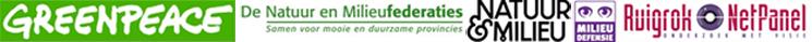 Greenpeace, Natuur & Milieu, Milieudefensie en de Natuur- en Milieufederaties vraagt uw mening